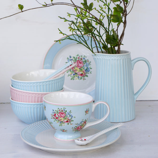 Franka Pale Blue, Tekopp - Greengate