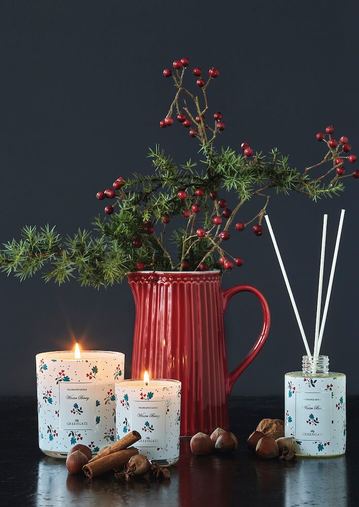 Alice Red, Mugge 1 L - Greengate