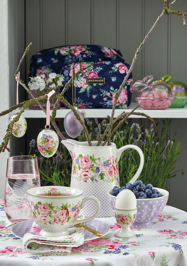greengate rose white