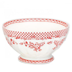 Stephanie Red, French Bowl XL - Greengate
