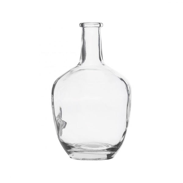 glassvase klart glass smal topp house doctor