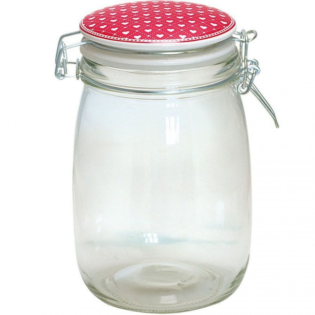 Haven Red, Glass Jar - Greengate
