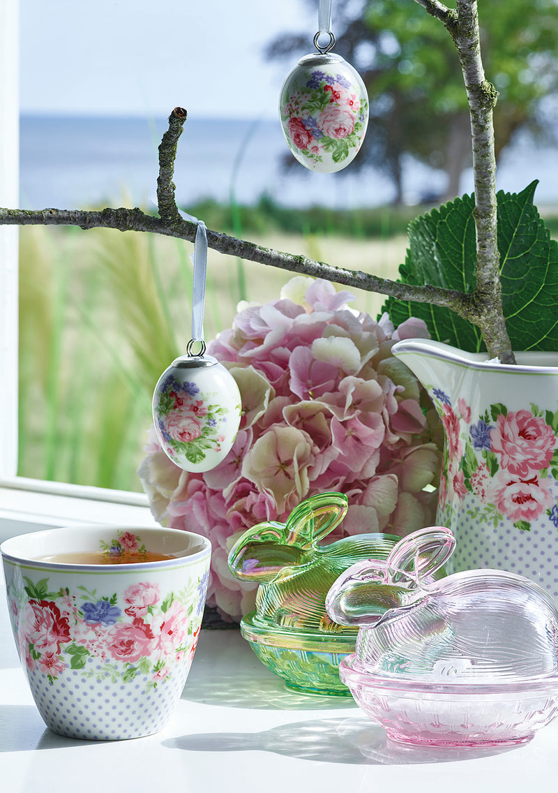 greengate rose white nettbutikk porselen
