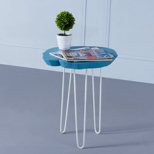 Arbor<br><i> <small>Side Table in Blue</i></small>