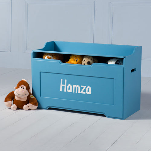 Boxford <br><i> <small>Toy Chest in Blue</i></small>