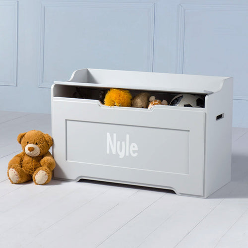 Boxford <br><i> <small>Toy Chest in Grey</i></small>