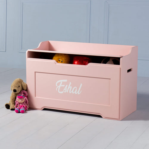 Boxford <br><i> <small>Toy Chest in Pink</i></small>