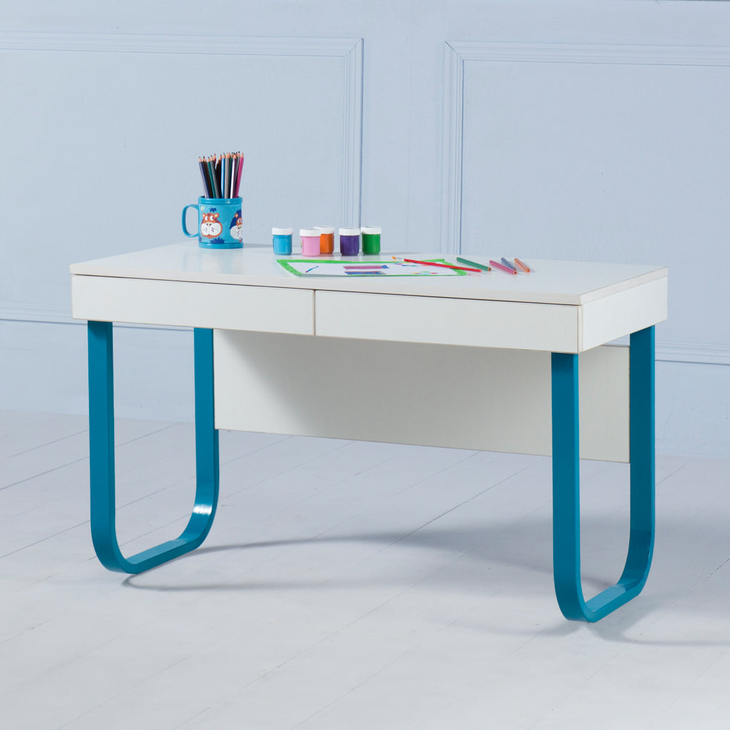 Explorer<br><i> <small>Kids Desk in Teal</i></small>