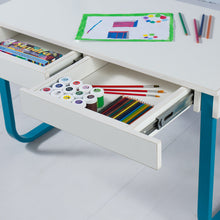 Load image into Gallery viewer, Explorer<br><i> <small>Kids Desk in Teal</i></small>