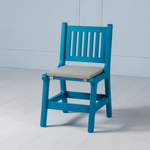 Karlo <br><i> <small>Kids Chair in Teal</i></small>