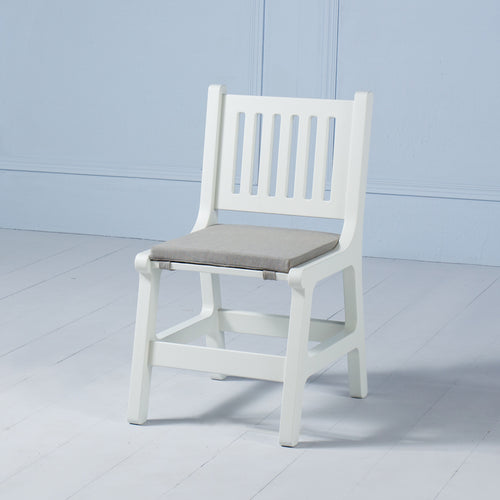 Karlo <br><i> <small>Kids Chair in White</i></small>