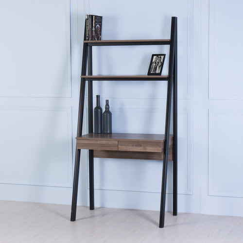Nook<br><i> <small>Ladder Desk in Walnut</i></small>