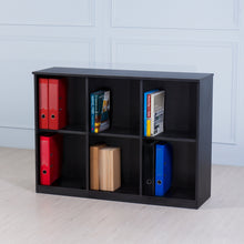 Load image into Gallery viewer, Space<br><i> <small>3 Door Storage Cabinet in Black</i></small>