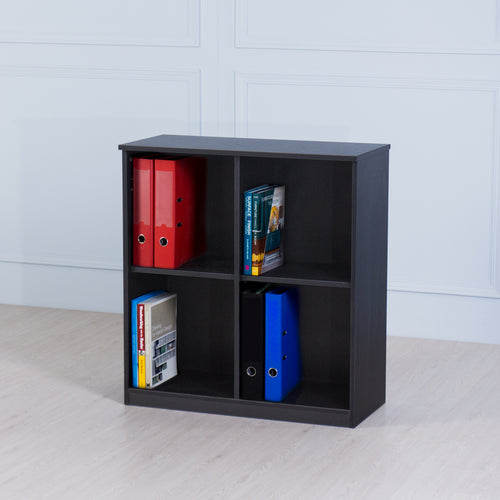 Space<br><i> <small>Small Storage Cabinet in Black</i></small>