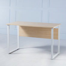 Load image into Gallery viewer, Work It<br><i> <small>Office Desk in Light Oak</i></small>