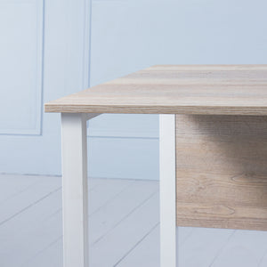 Work It<br><i> <small>Office Desk in Brushed Oak</i></small>
