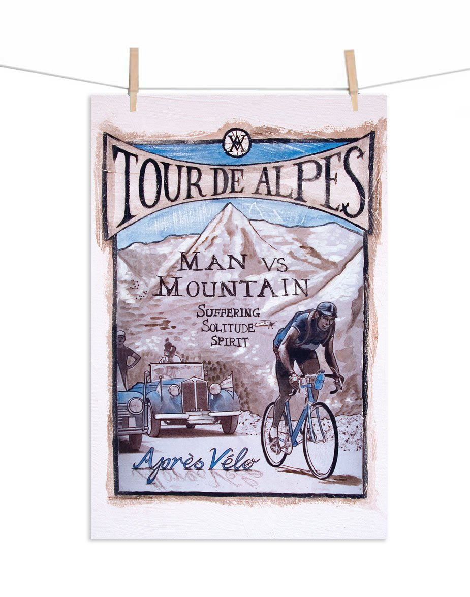 Tour de Alpes Canvas Print