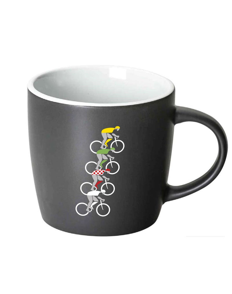 Tour de Caffeine Coffee Mug - White