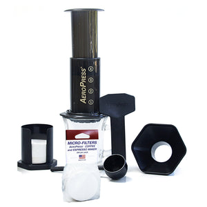Aerobie AeroPress Coffee and Espresso Maker with Bonus 350 Micro Filters- AMAZON