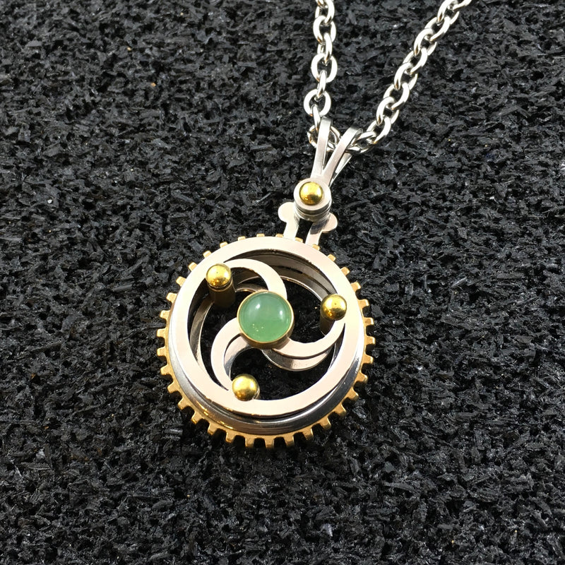 Celtic Spiral 1 | Gearing Pendant