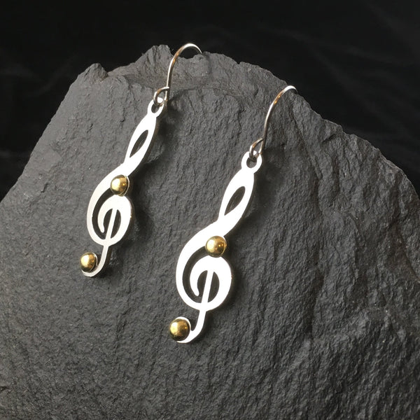 Sound of Music | Drop Earrings