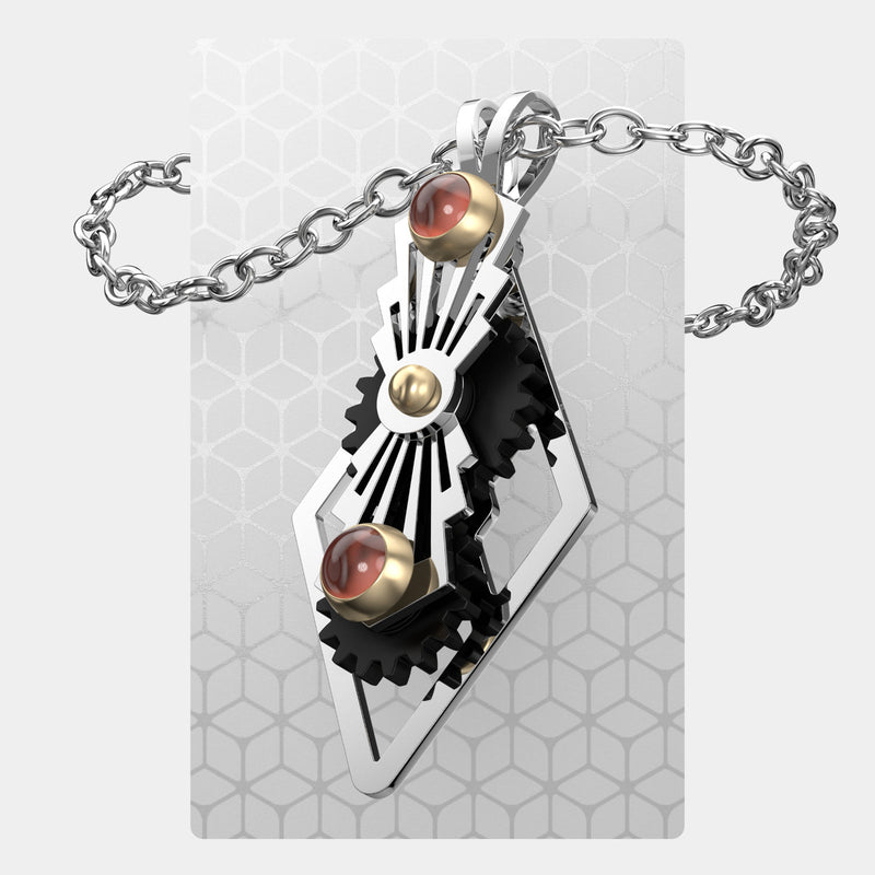 Art Deco Sunburst | Pendant