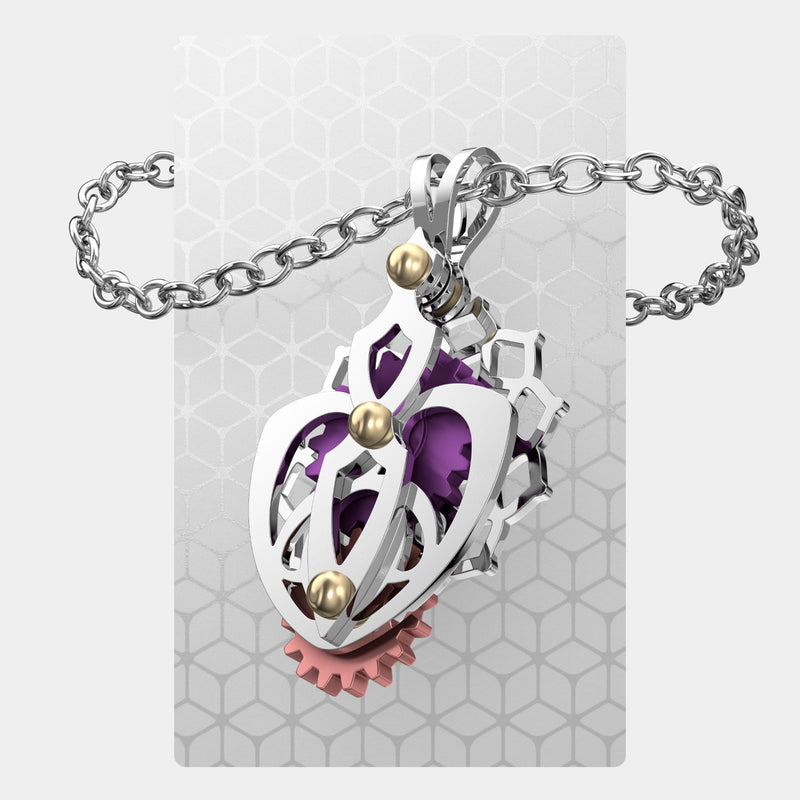 Queen of Hearts 1 | Pendant