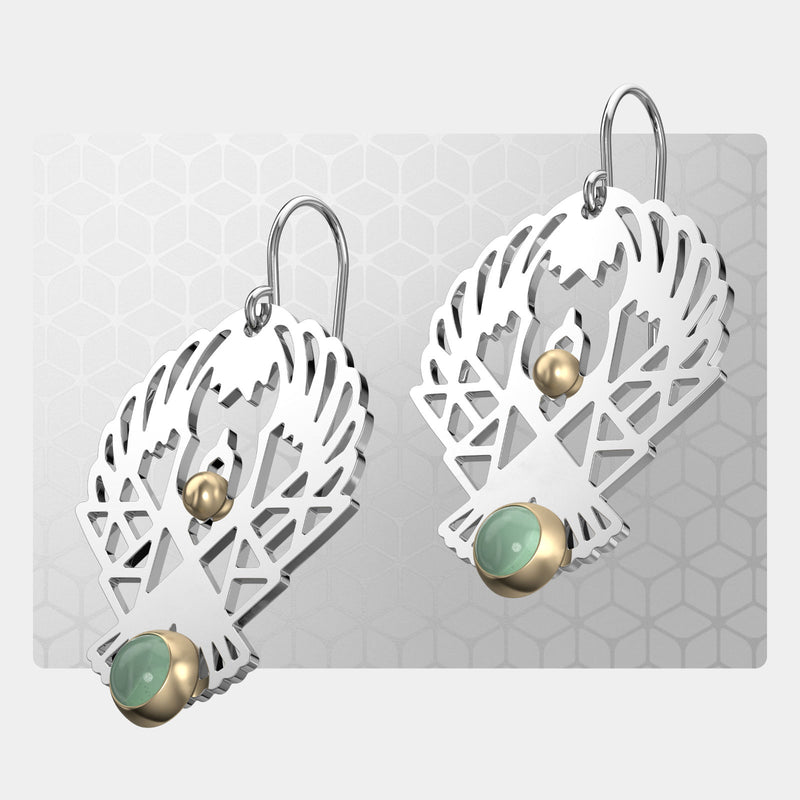 Eagle | Drop Earrings