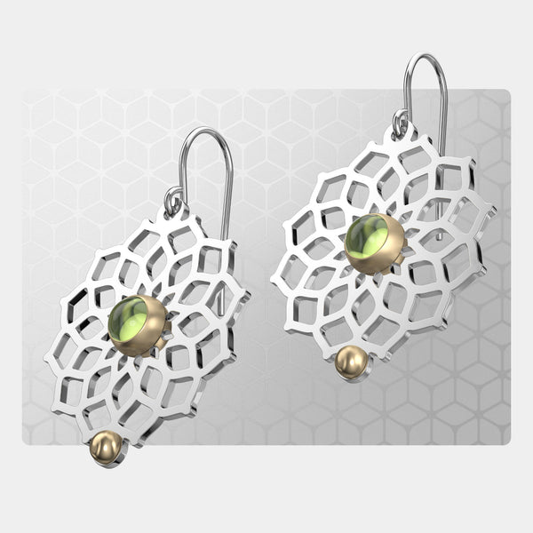 Sacred Geometry | Drop Earrings