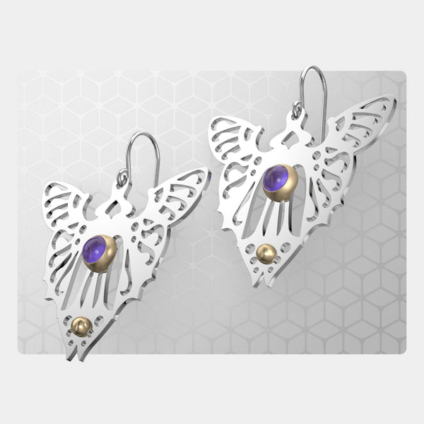 Butterfly | Drop Earrings