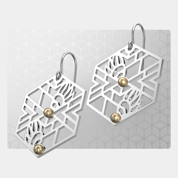 Bear Claws | Drop Earrings