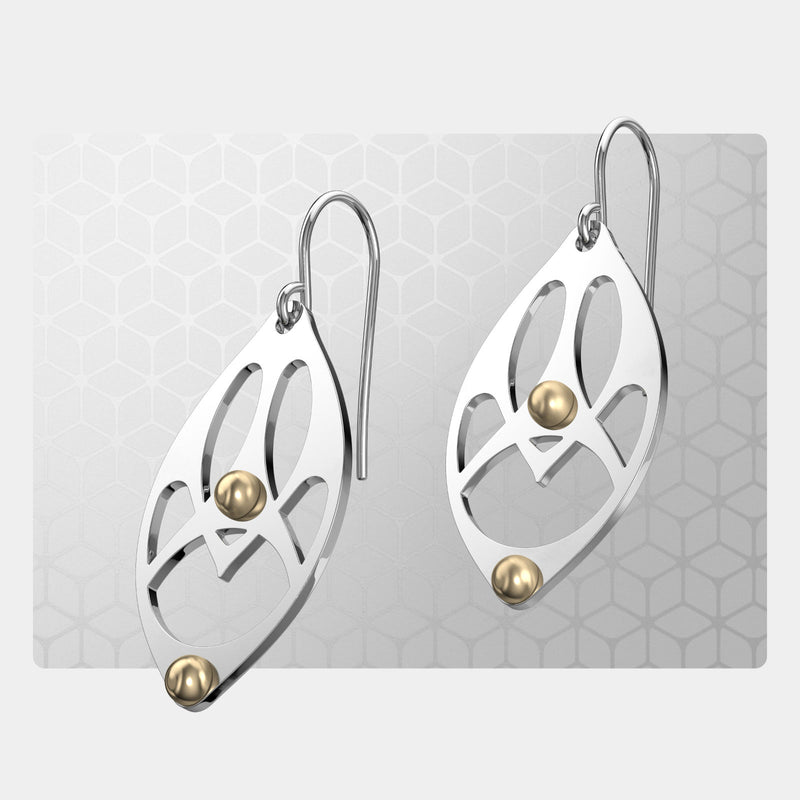 Gaudi Arches | Drop Earrings