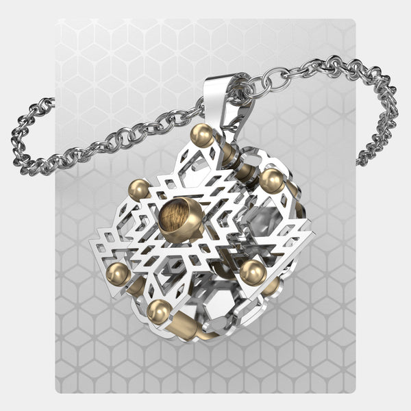 Sunrise | Gearless Hexagon Pendant