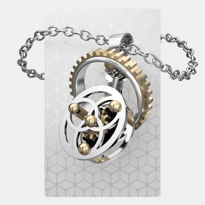 Celtic Continuum 4 & Gears | Gearing Pendant