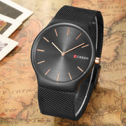 CURREN 8256 new black rose gold Pointer relogio masculino Luxury Brand Analog sports Wristwatch Quartz  Business Watch MEN N9