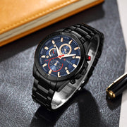Curren 8275 new 2017 top brand luxury Watch Men relogio masculino quartz watch fashion casual alloy wristwatches