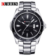 NEW curren  watches men Top Brand fashion watch quartz watch male relogio masculino men Army  sports Analog Casual  8110
