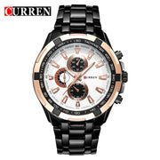 Relogio Masculino CURREN Watches Men quartz army Watch Top Brand Waterproof   male Watches Men Sports