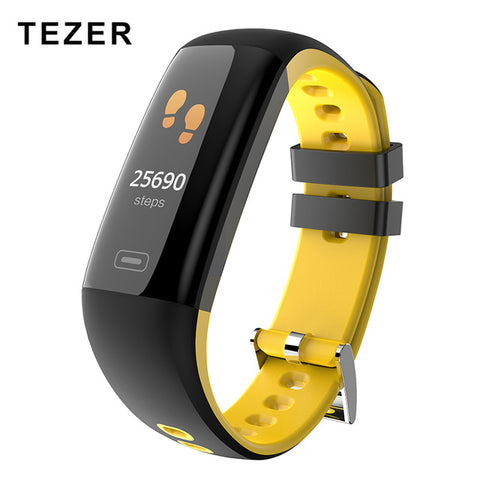 TEZER R16 Smart Bracelet Heart rate blood pressure blood oxygen Fitness Activity Monitor Band Wristband for iphone Android phone