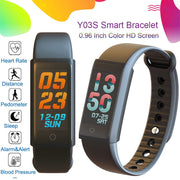 TEZER Y03S Smart Wristband Fitness Tracker Watch with Heart Rate Blood Pressure Monitor IP67 Activity Tracker Smart bracelet