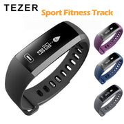 Tezer Sport Bracelet Watch men Smart wristBand Fitness Tracker Heart rate Blood Pressure Oxygen Oximeter Watch intelligent R5PRO