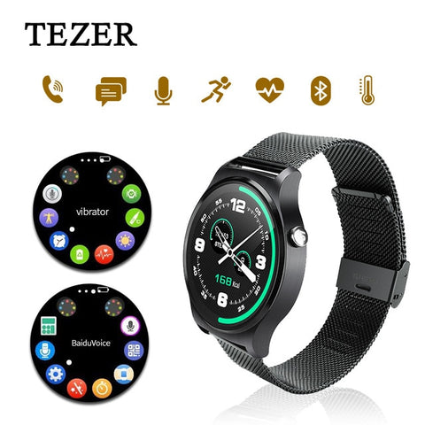 Original GW01 Smart Watch with Music Remote Camera Heart Rate Dial Messages WiFi Bluetooth 4.0 Watch Phone for Android iOS