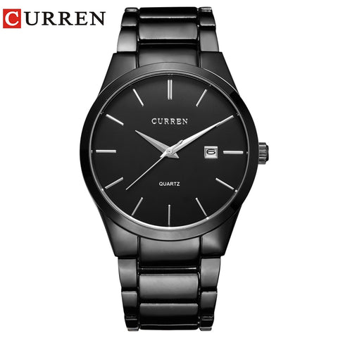 relogio masculino CURREN Luxury Brand  Analog sports Wristwatch  Display Date Men's Quartz Watch Business Watch Men Watch 8106