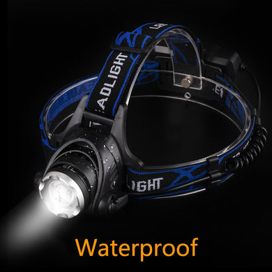 EP-3800LM XM-L T6 LED Headlamp Zoomable Headlight Waterproof  Torch Flashlight - boost-your-inside
