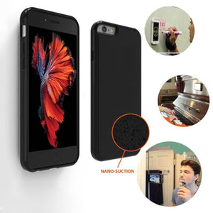 EP-Anti Gravity Case For iPhone 7 7plus iphone 6 6s Plus Goat Suction Magic Stick Selfie Phone Cover - boost-your-inside