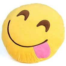 Load image into Gallery viewer, EP-30cm Face Emoji Pillow Round Cushion For Sofa Car Seat Home Decorative Cushions - boost-your-inside