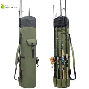 EP-Fishing Portable Multifunction Nylon Fishing Bags Fishing Rod Bag Case Fishing Tackle Tools Storage Bag - boost-your-inside