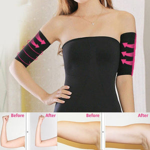 EP-2Pcs Weight Loss Calories off Slim Slimming Arm Shaper Massager Sleeve Slimming Wraps Arm Weight Loss Fat Burning Face Lift Tool - boost-your-inside