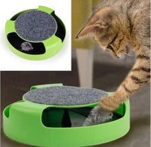 Load image into Gallery viewer, EP-Pet Cat Kitten Catch The Mouse Moving Plush Toy Scratching Claw Care Mat Play - boost-your-inside