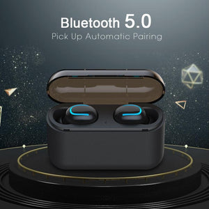 EP-Bluetooth 5.0 Earphones TWS Wireless Headphones Blutooth Earphone Handsfree Headphone Sports Earbuds Gaming Headset - boost-your-inside